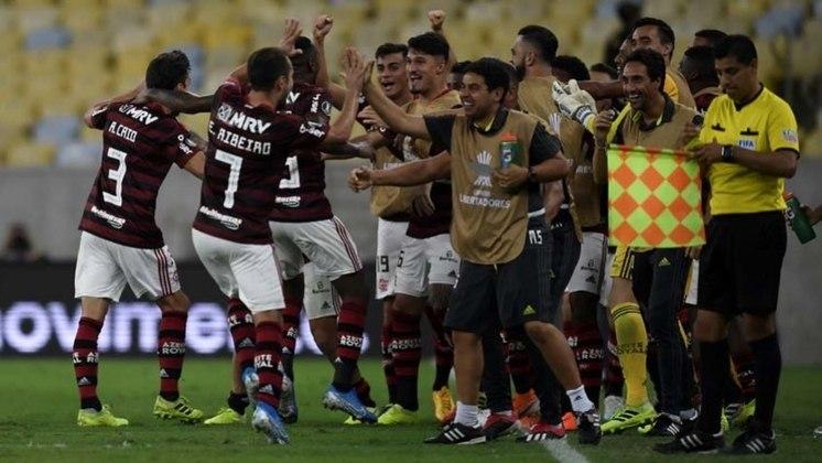 No Maracanã e com o apoio da Nação, a equipe de Jorge Jesus não tomou conhecimento do Grêmio, e aplicou um sonoro 5 a 0 na equipe de Renato Gaúcho. Na final, Gabigol fez história e o Flamengo venceu o River Plate.