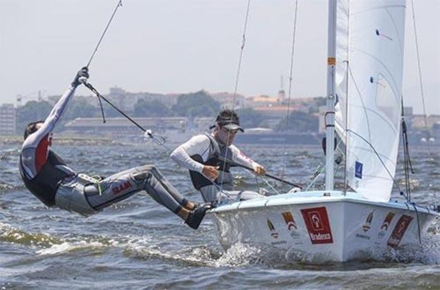 No mesmo horário, Bruno Bethlem e Henrique Haddad  participam das regatas 1 e 2 na categoria 470m.