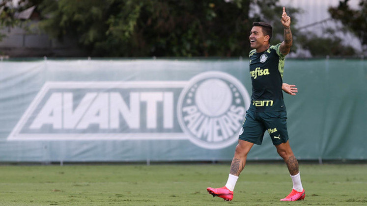 No Palmeiras desde 2015, Dudu deu 78 passes que se tornaram gols em 305 jogos.