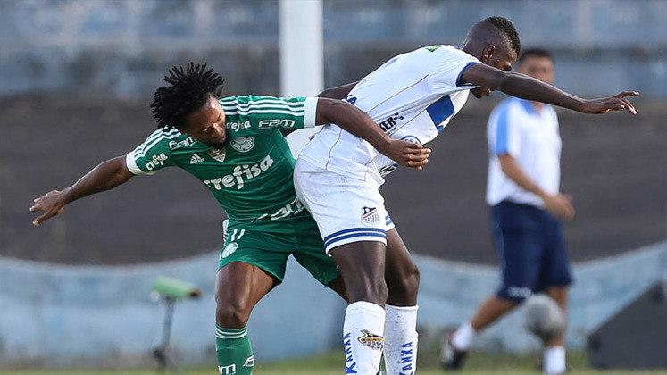 No Paulistão de 2016, o Palmeiras foi goleado pelo Água Santa, em Presidente Prudente, por 4 a 1. Na época, o time comandado por Cuca ficou na lanterna do grupo.