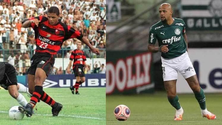 O atual campeão brasileiro, Flamengo, enfrenta o atual campeão da Copa do Brasil, Palmeiras, neste domingo (11), na final da Supercopa do Brasil. Para entrar no clima da decisão, a reportagem listou jogadores que já vestiram a camisa dos dois clubes. Relembre!
