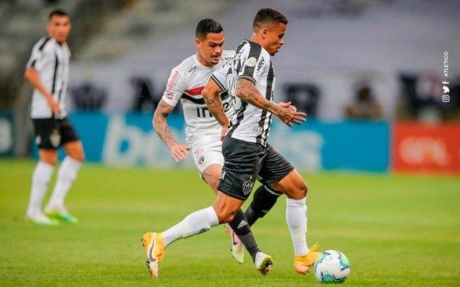 No retrospecto geral, são 80 jogos entre as duas equipes na história. O Atlético-MG venceu 29, enquanto o São paulo ganhou 27 partidas. Foram ainda 24 empates.