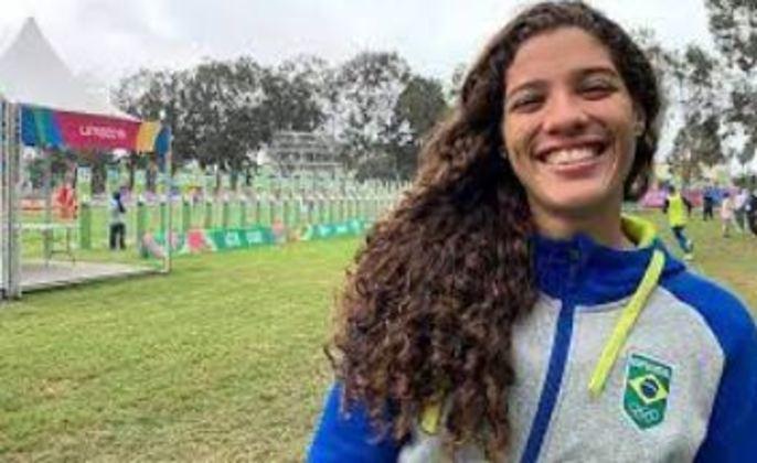 No segundo e último dia do pentatlo feminino, Maria Ieda Guimarães disputa o ouro, mas para isso precisa mandar bem na natação 200m, esgrima, hipismo e na corrida laser, a partir das 2h30.