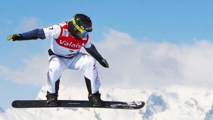 No Snowboarding também é possível ver atletas tentarem o backflip.