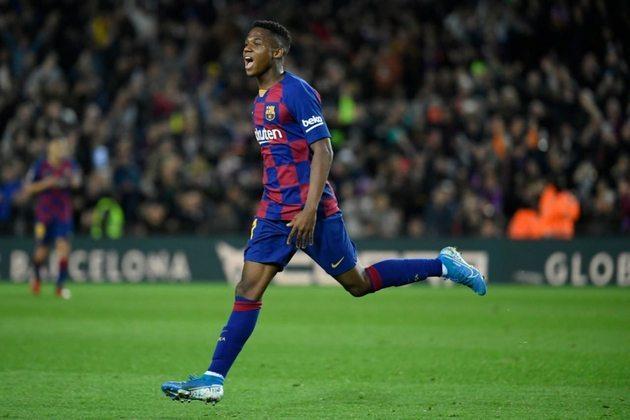 No topo da lista dos mais caros aparece o atacante africano Ansu Fati do Barcelona.