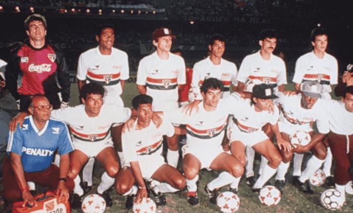 No total, foram 432 jogos pelo Tricolor paulista, sendo 217 vitórias, 123 empates e 92 derrotas, com um aproveitamento de 59,72%.