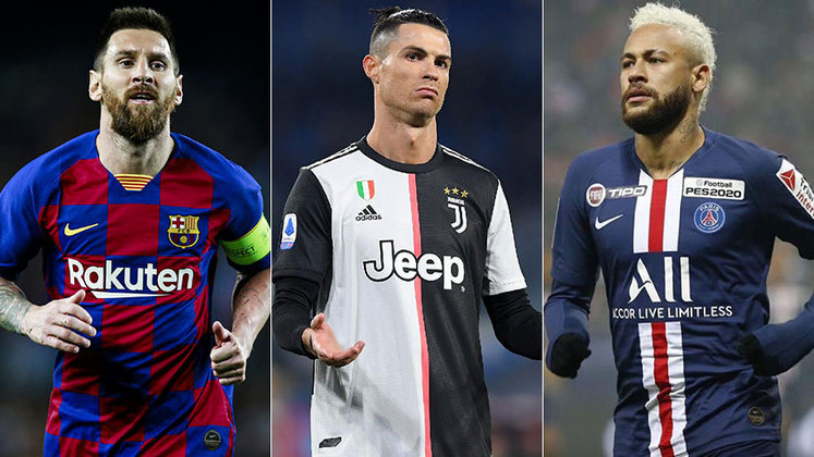 O Paris Saint-Germain estaria preparando uma proposta de renovação de contrato a Neymar até 2025, com um aumento de salário, segundo informações do jornal espanhol 'Sport'. Com isso, listamos a seguir os 20 jogadores mais bem pagos do futebol mundial, de acordo com a conceituada revista 'France Football'. Confira!