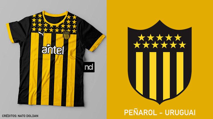 No Uruguai, a tradicional camisa do Peñarol é a mais barata e está na 12ª colocação no geral, com o preço de 71,76 dólares, cerca de 2.990 pesos uruguaios. A fornecedora é a Puma.