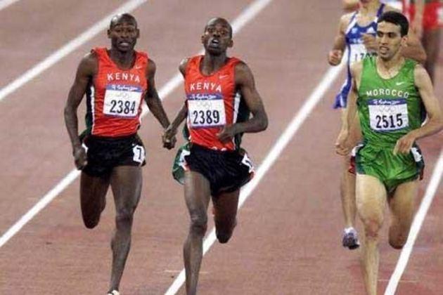 Noah Ngeny, do Quênia, bateu o recorde olímpico dos 1.500 metros nos Jogos Olímpicos de Sydney, em 2000. O atleta completou a prova que lhe deu rendeu a medalha de ouro em 3h32min07s.
