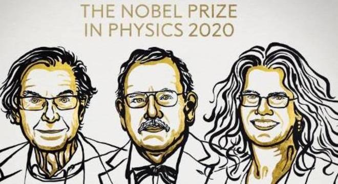 Prêmio Nobel de Física 2020 vai para Roger Penrose, Reinhard Genzel e Andrea Ghez