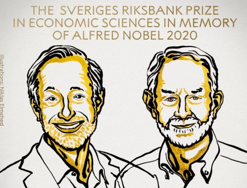 Milgrom e Wilson foram os vencedores do prêmio Nobel de Economia deste ano