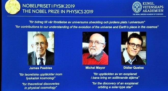 Nobel de Física premiou estudos sobre evolução do universo