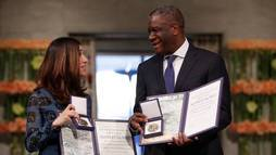 Ativistas recebem Nobel da Paz 2018 por lutarem contra violência sexual ()