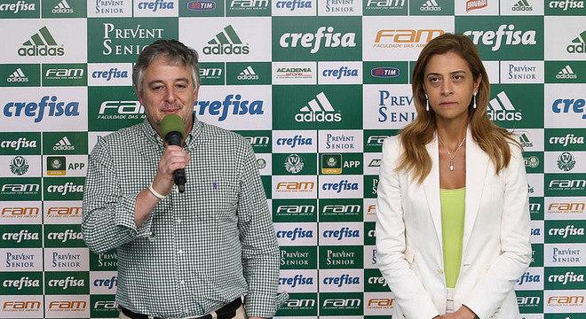 Paulo Nobre e Leila Pereira entraram em conflito. Por disputa de apoio político