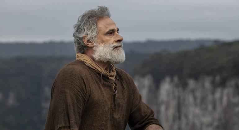 Noé (Oscar Magrini) viveu momento de fraqueza no capítulo desta quinta-feira (28) em Gênesis