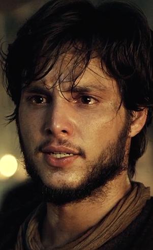 Noé (jovem) (Bruno Guedes ): Homem íntegro e reto escolhido por Deus para dar continuação à humanidade depois do dilúvio.