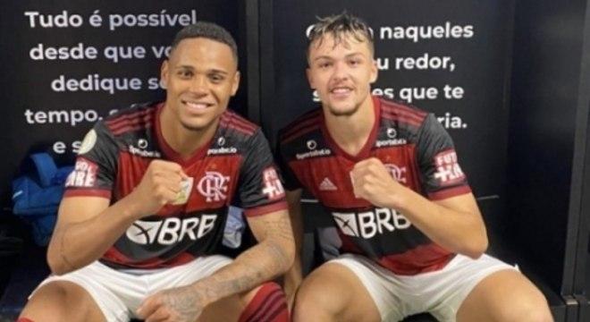 Noga e Natan - Flamengo