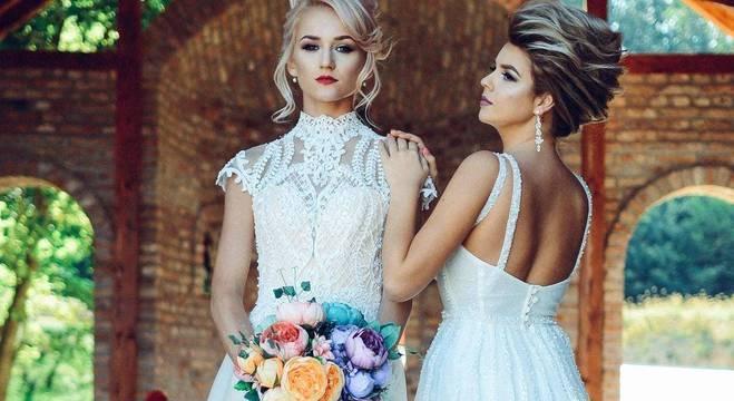 Após provar vestido, sogra teria pedido para noiva escolher modelo novo