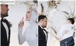 Um casamento recente na Malásia tem dado o que falar nas redes sociais. A noiva, identificada como Mayang, transmitiu toda cerimônia ao vivo para os seguidores, e surpreendeu com um pedido inusitado no altar. Após dizer o 'sim', perguntou ao marido Iqba se poderia abraçar o ex pela última vez. Veja