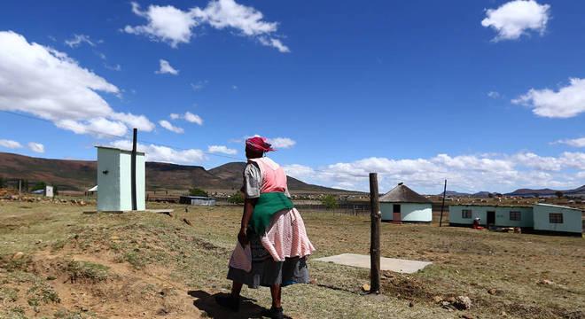 'Eu estava com medo, mas me obriguei a ir porque era minha filha', diz Nokubonga