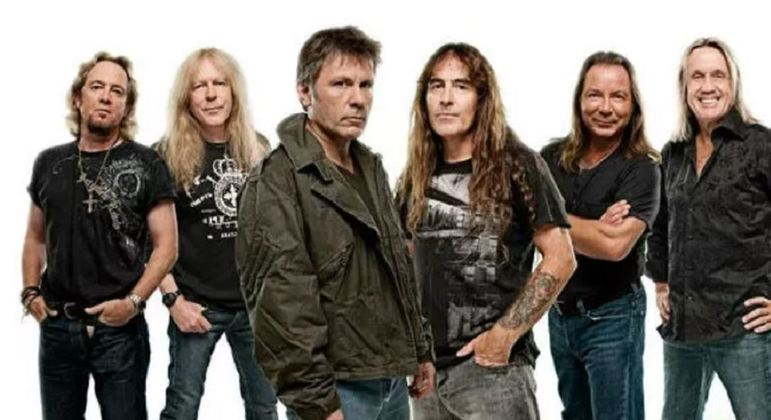 Nome da banda: Iron Maiden