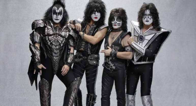 Nome da banda: Kiss