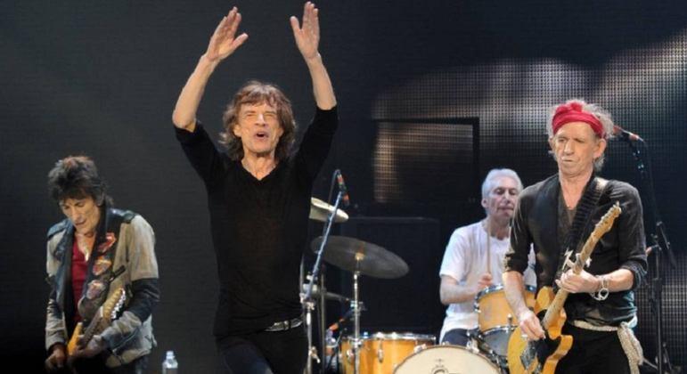 Nome da banda: Rolling Stones