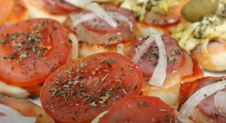Nome da massa: Mini Pizzas