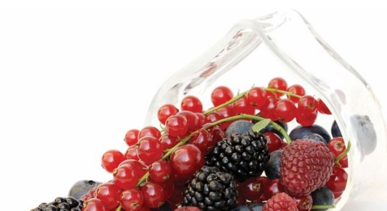Nome do alimento: Frutas vermelhas