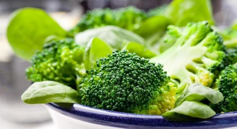 Nome do alimento: Vegetais verdes