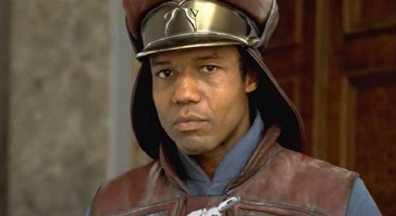 Nome do personagem: Capitão Panaka - Filme: Ameaça Fantasma (1999) - Chefe de segurança de Naboo, leal companheiro da rainha Amidala.