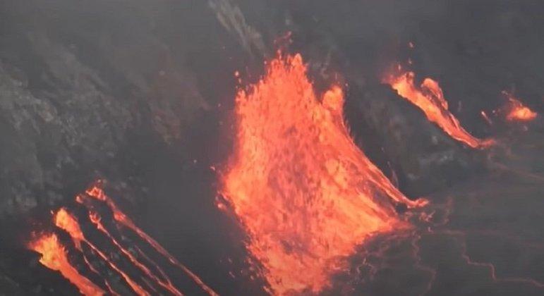 Nome do vulcão: Kilauea, no Havaí