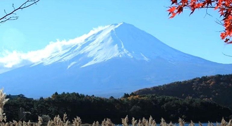 Nome do vulcão: Monte Fuji, no Japão