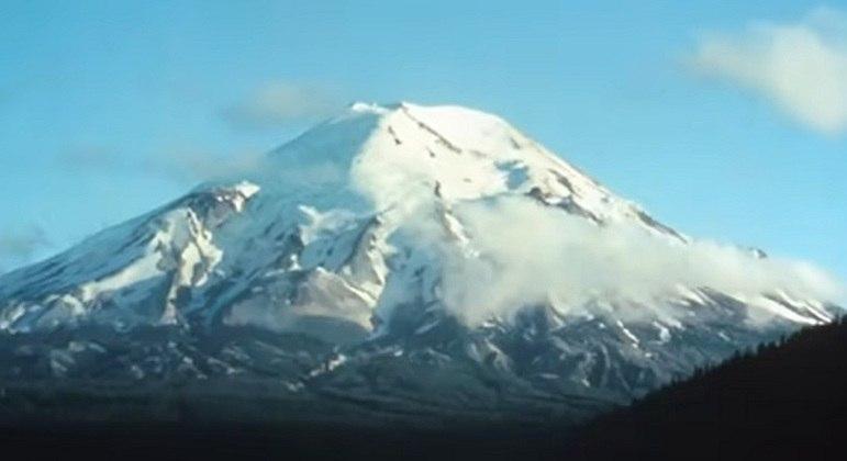 Nome do vulcão: St Helens, nos Estados Unidos