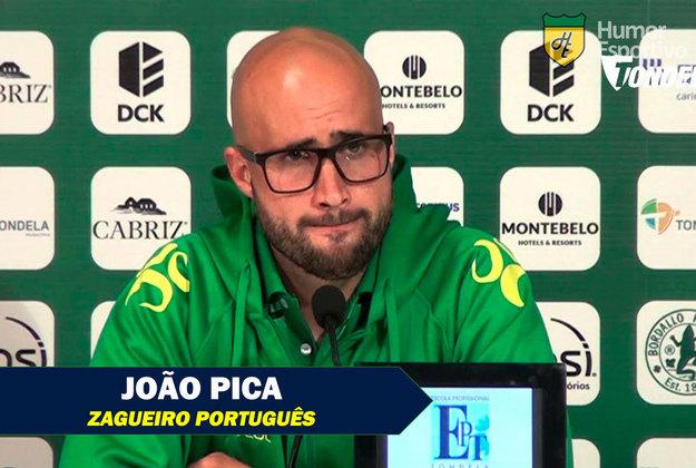 Nomes curiosos do mundo esportivo: João Pica