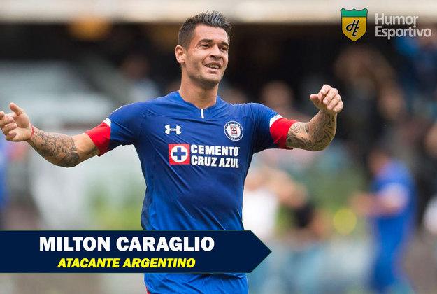 Nomes curiosos do mundo esportivo: Milton Caraglio