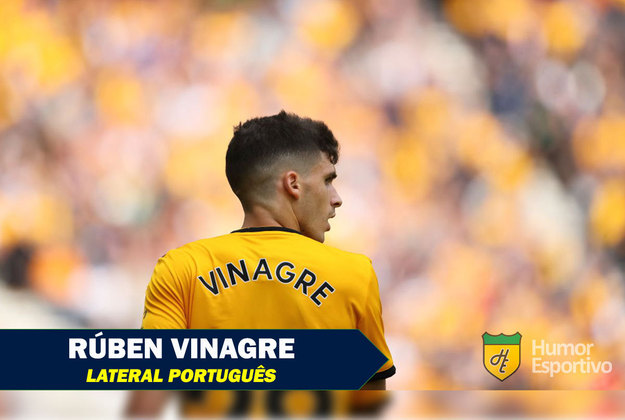 Nomes curiosos do mundo esportivo: Rúben Vinagre