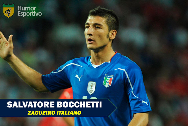 Nomes curiosos do mundo esportivo: Salvatore Bocchetti