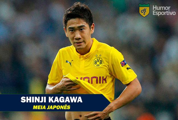 Nomes curiosos do mundo esportivo: Shinji Kagawa