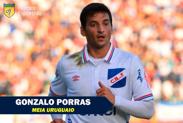 Nomes inusitados do esporte: Gonzalo Porras