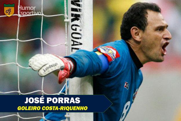 Nomes inusitados do futebol: José Porras