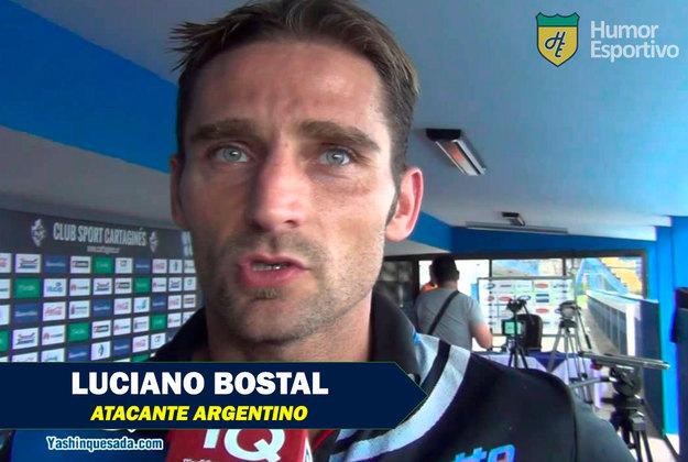 Nomes inusitados do esporte: Luciano Bostal