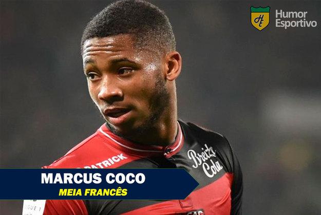 Nomes inusitados do esporte: Marcus Coco