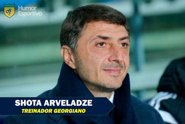 Nomes inusitados do futebol: Shota Arveladze