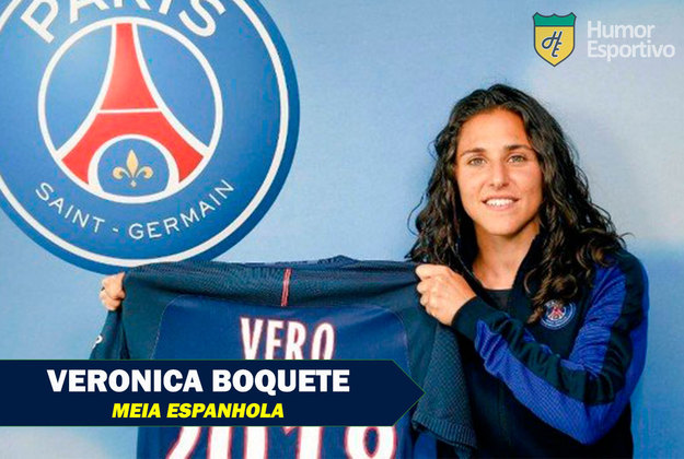 Nomes inusitados do esporte: Veronica Boquete