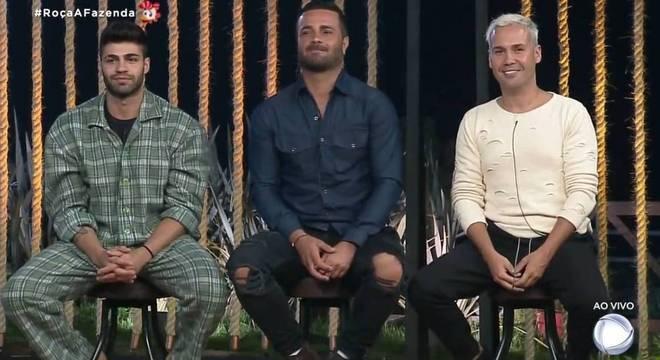 A nona Roça da temporada foi formada por Netto, Rodrigo e Viny Vieira