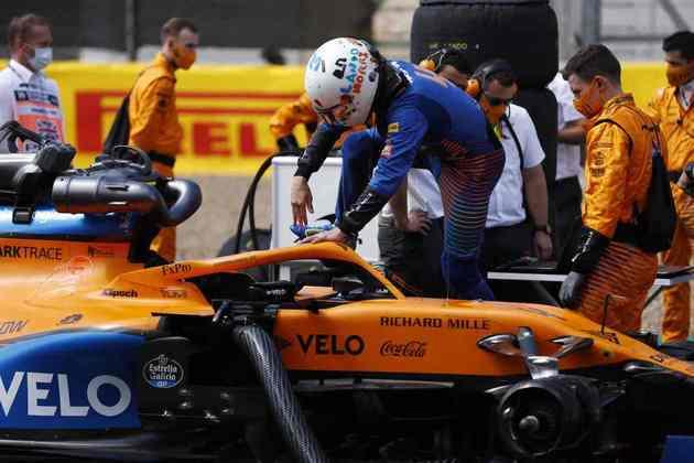 Norris acabou como o único piloto da McLaren a pontuar