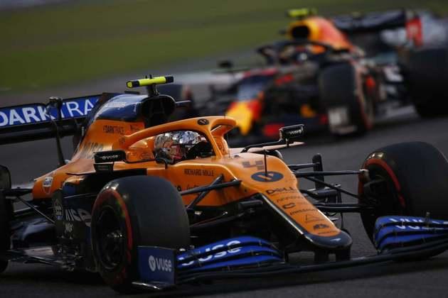 Norris ajudou a McLaren na conquista do posto de terceira força.