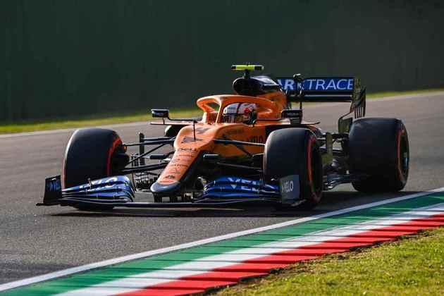 Norris foi para o Q3 mais uma vez e larga na nona colocação