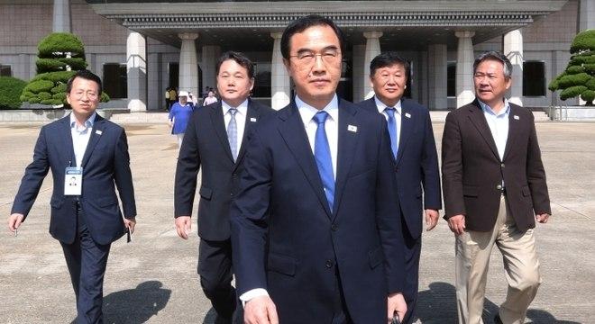 Ministro sul-coreano da Unificação, Cho Myoung-gyon